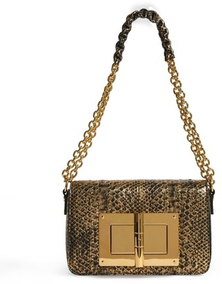 Tom Ford Medium Python Natalia Shoulder Bag