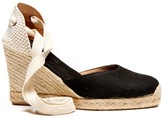 Sole Society Tall Linen Wedge Espadrille Wedge