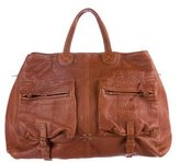 Jerome Dreyfuss Leather Max Satchel