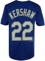 Majestic Clayton Kershaw Los Angeles Dodgers Poly Player T-Shirt, Big Boys (8-20)