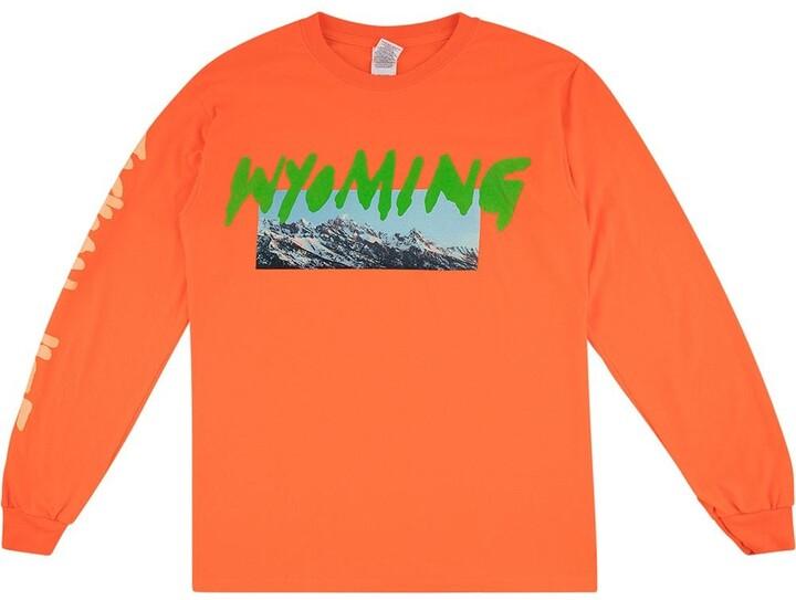 Yeezy Wyoming print T-shirt