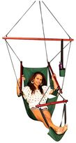 Tropicana Hammocks Hanging Chairs Canvas Hammock Chair With Footrest And Drink Holder Solid Colours, Navy MS