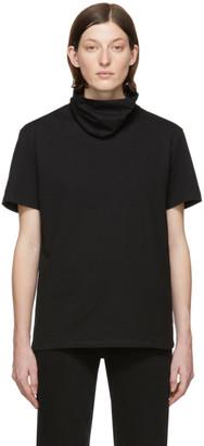 Raf Simons Black Clubbers Turtleneck Sleeve T-Shirt