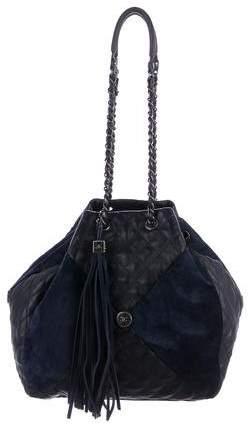 Chanel 2016 Patchwork Drawstring Bag