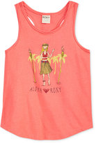 Roxy Graphic Tank Top, Toddler & Little Girls (2T-6X)