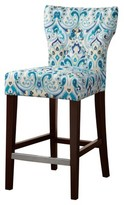 "Nobrand No Brand Saffron Tufted Back Counter Stool - Multicolor (25"")"