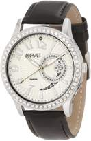 August Steiner Women's ASA842SS Diamond Quartz Watch