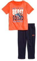 Under Armour Infant Boy's Beast Squad Graphic T-Shirt & Track Pants Set