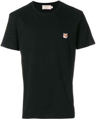 MAISON KITSUNÉ signature patch T-shirt