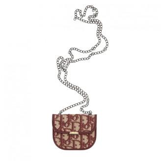 Christian Dior Burgundy Denim - Jeans Clutch bags