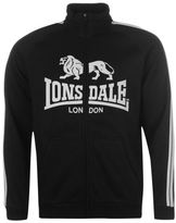 Lonsdale London Mens 2 Stripe Zip Thru Hoody Full Sweater Hoodie Hooded Top Jumper