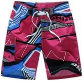 Paixpays Men Beach Shorts Quick Dry Shorts Outwear Plus Size Board Short Summer