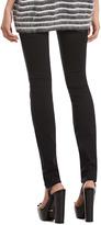 Gucci Black Stretch Cotton Skinny Pants