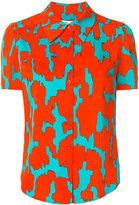 Diane von Furstenberg short-sleeve printed shirt - women - Silk/Spandex/Elastane - 4