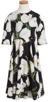 Dolce & Gabbana Girl's Floral Print Dress