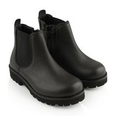 Dolce & Gabbana Dolce & GabbanaDark Brown Leather Ankle Boots
