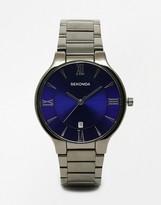 Sekonda Watch In Black Stainless Steel 1140