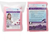 NuAngel Nursing Blanket and Contoured Burp Pad Set, Pink by NuAngel