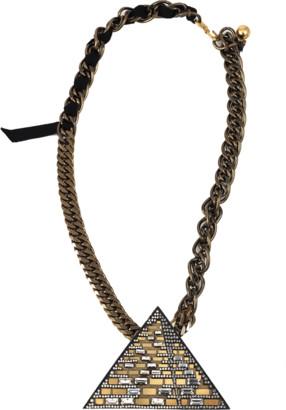 Lanvin Luxor Pyramid Necklace
