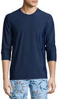 Vilebrequin Men's Long-Sleeve Rashguard, Navy
