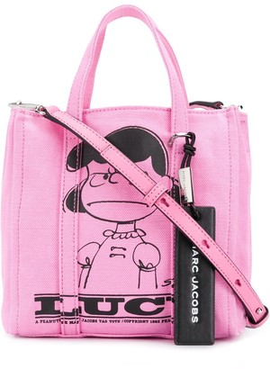 Marc Jacobs x Peanuts The Tag tote with Lucy
