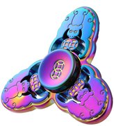 Compia Unique Multiple Color Hand Spinner Fidget Copper Ball Desk Focus Toy EDC For Kids/Adults Reducer EDC Focus Toy Relieves ADHD Anxiety and Boredom