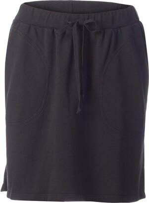 LAmade Women's Elastic Waistband Pocket Skirt