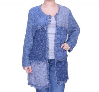 Alfred Dunner Women's Block Print Sweater