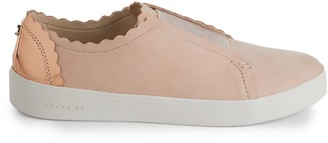 Cole Haan Grand Crosscourt Leather Slip-On Sneakers