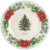 Spode Christmas Tree Annual 2016 Collector's Plate