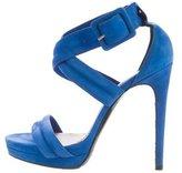 Barbara Bui Platform Leather Sandals