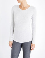 The Upside Lana ribbed cotton-jersey top