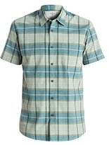 Quiksilver Young Men's Everyday Check Short Sleeve Woven Top