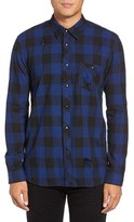 Hudson Men's Weston Check Sport Shirt