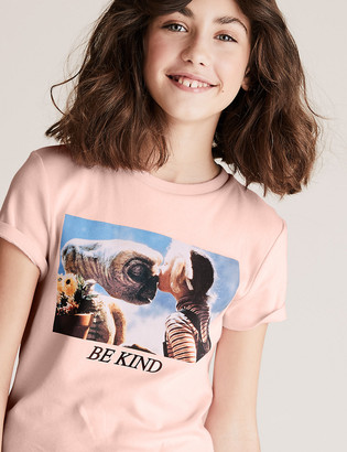 Marks and Spencer ET The Extra Terrestrial Print T-Shirt (6-14 Yrs)