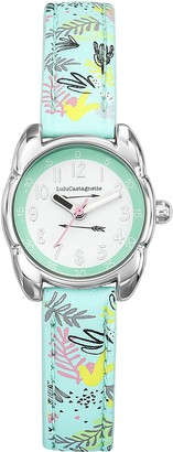 Lulu Castagnette Girl's Analogue Quartz Watch with Leather Strap 38830