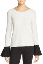 Ramy Brook Lara Contrast Sweater 100% Exclusive