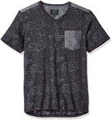 GUESS Men's Central Burnout V-Neck T-Shirt