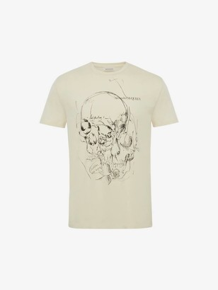 Alexander McQueen Sketchbook Skull T-Shirt