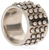 Alexander McQueen Studded Metal Ring
