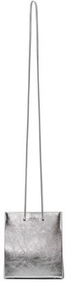 Medea Silver Long Strap Short Bag