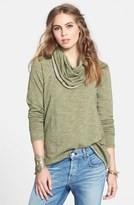Free People Women's 'Beach Cocoon' Cowl Neck Pullover