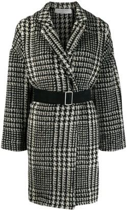 Philosophy di Lorenzo Serafini houndstooth pattern coat