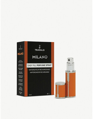 Travalo Milano refillable leatherette perfume bottle