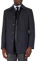 John Lewis Regular Fit Car Coat, Black