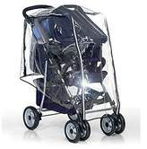 Hauck Universal Raincover for Shop N Drive Systems, Pushchair with Infant Car Seat Travel System, Water Resistant and Durable Transparent
