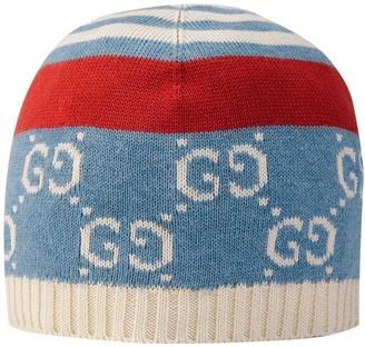 Gucci Kids Baby GG cotton hat