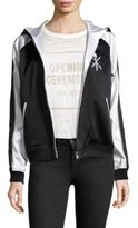 Opening Ceremony Torch Reversible Silk Track Jacket