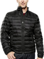 Dockers Quilted Puffer Jacket with Packable Neck Pillow