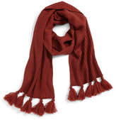 BP Tassel Trim Knit Scarf